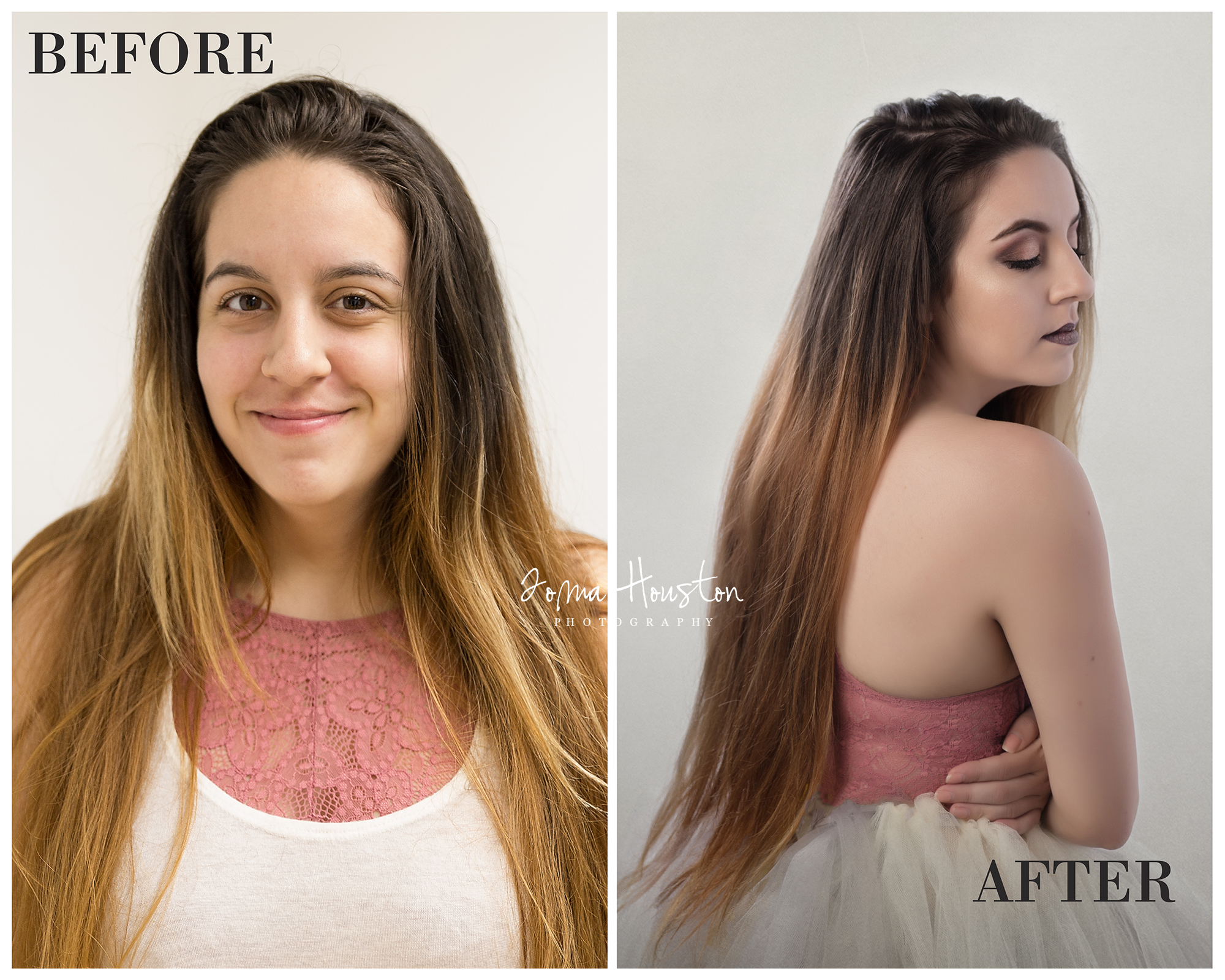 Andrea Before and After | Toma Houston Photography