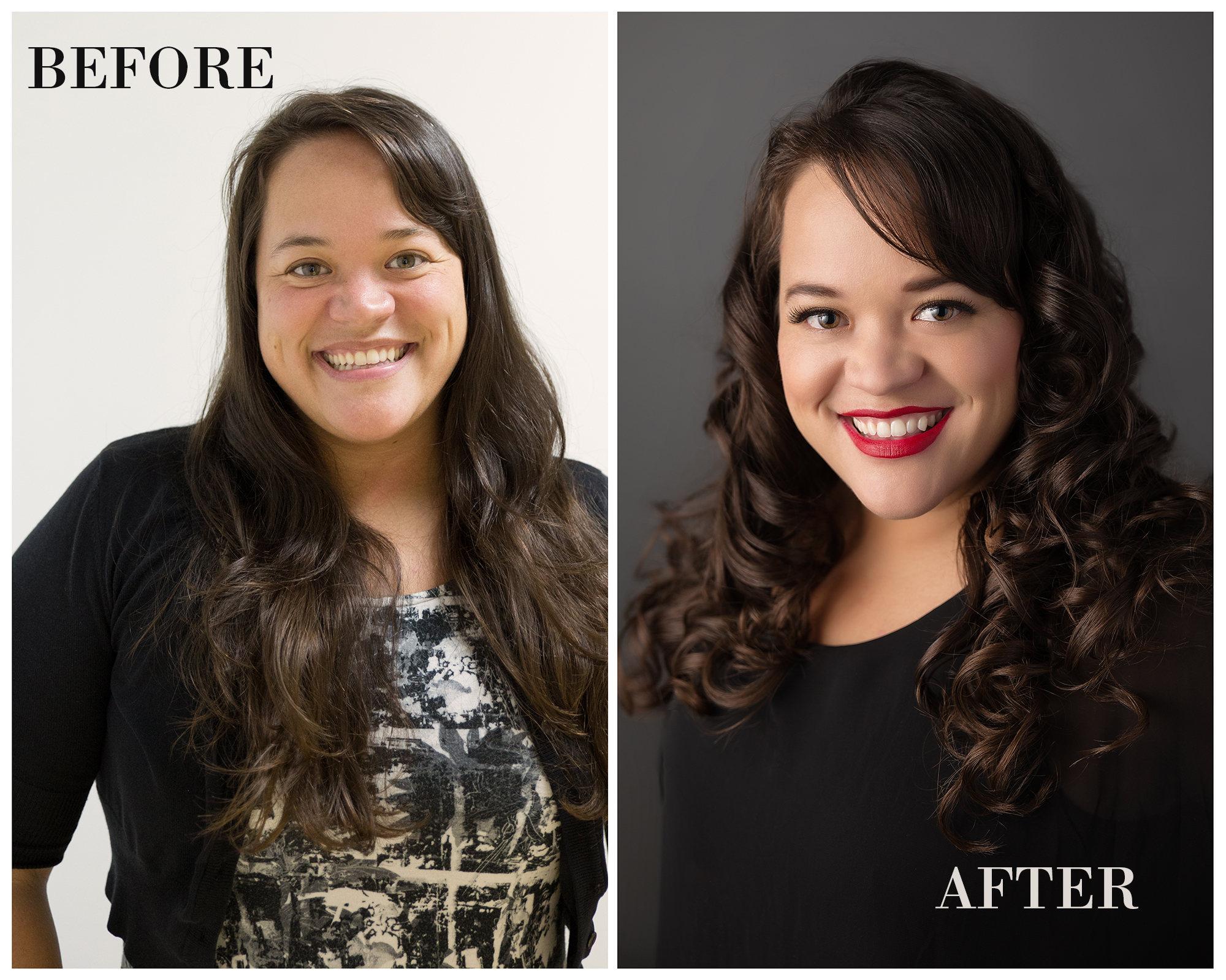 Melissa Before and After | Toma Houston Photography